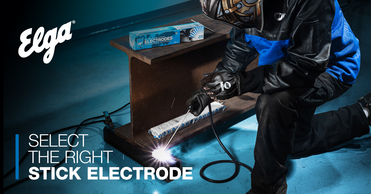 Stick electrode welding